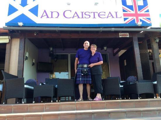 An Caisteal - Brittish and Scottish cuisine, chips, british breakfast.