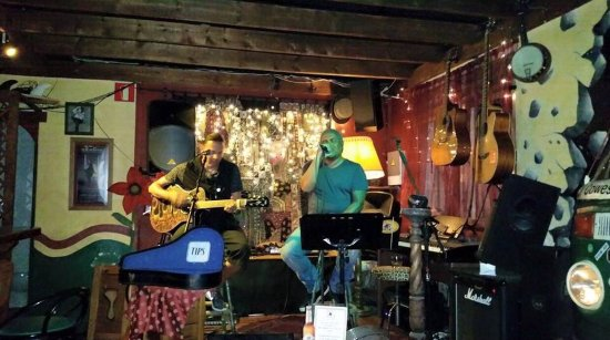 Rock Island Bar, Fuerteventura, Spain. Live music every night of the week.