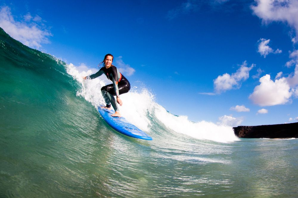 Professional surf courses and holidays in Fuerteventura