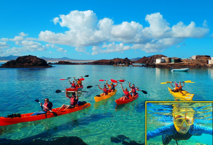 Kayak Fuerteventura, Nature and Parks in Corralejo